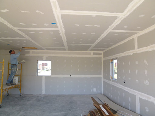 Tips For Hanging Drywall On Ceilings Great Diy Tips